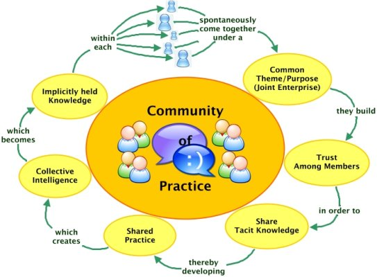 ngo relationship with communities of practice